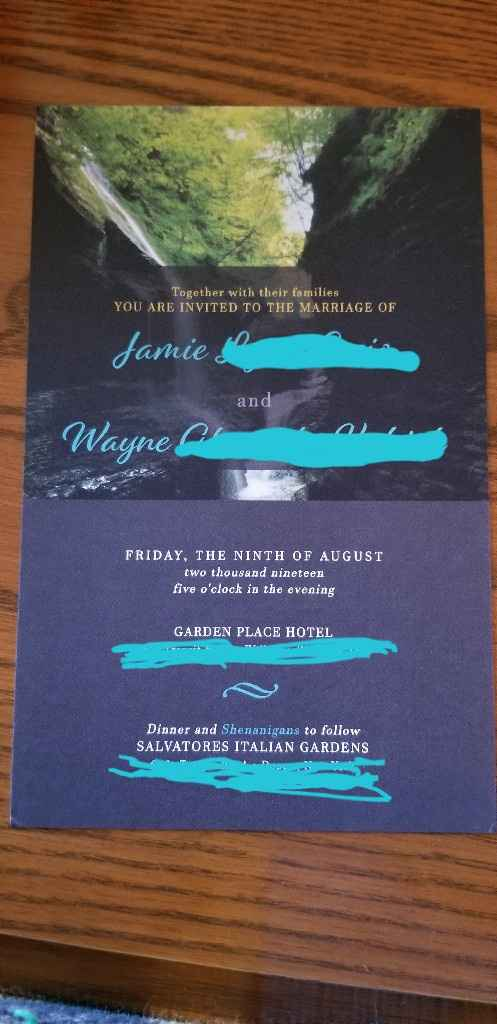 Making your own invites? - 1