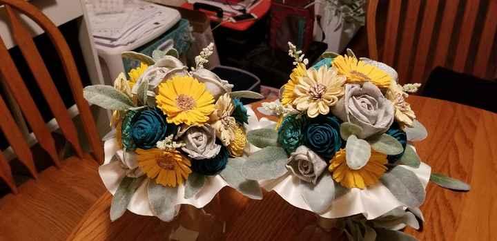 Hey Bouquet Sola Wood Flower Bouquets - 2