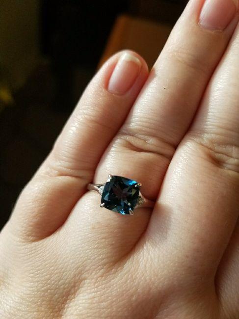 Show me your unique engagement rings! 10