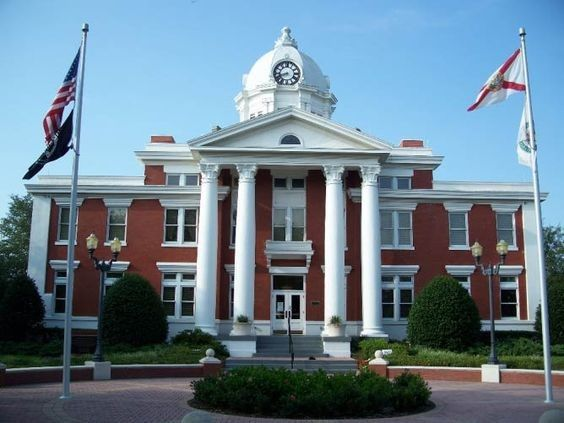 Florida courthouse wedding 1