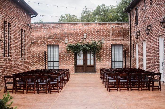 Outdoor ceremony or reception? 1