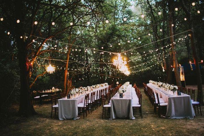 Outdoor ceremony or reception? 2