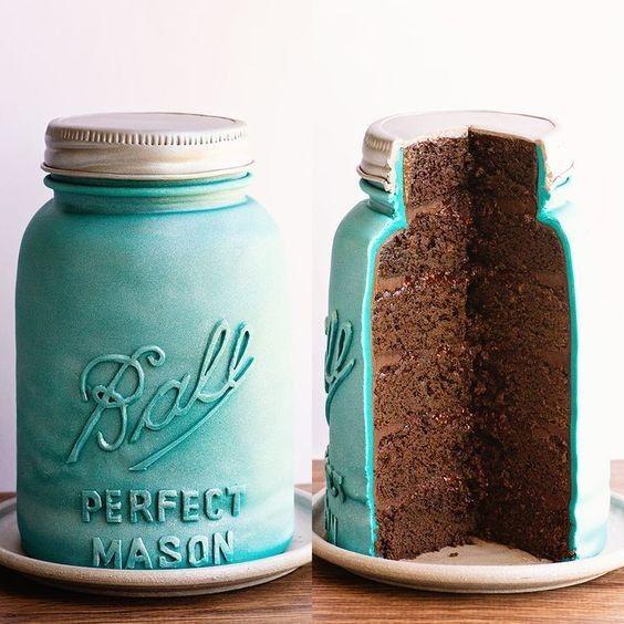 Mason Jar Bridal Shower Sweets 3