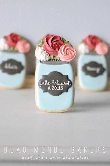 Mason Jar Bridal Shower Sweets 5