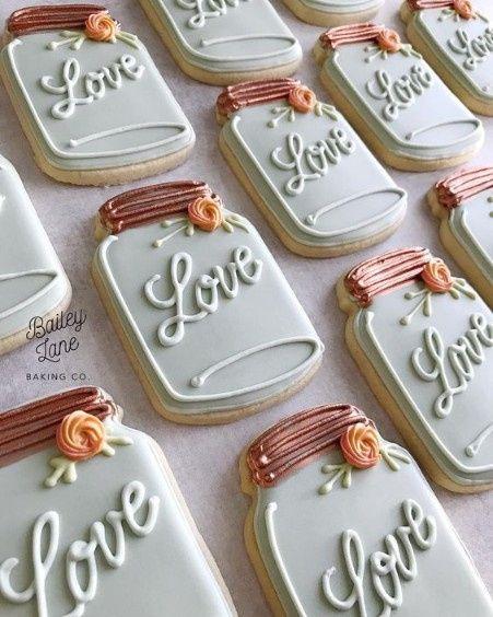 Mason Jar Bridal Shower Sweets 6