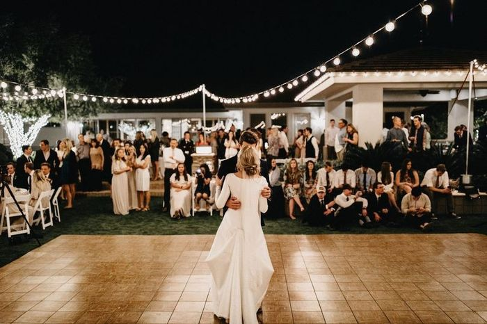 Have you picked your first dance song? 1