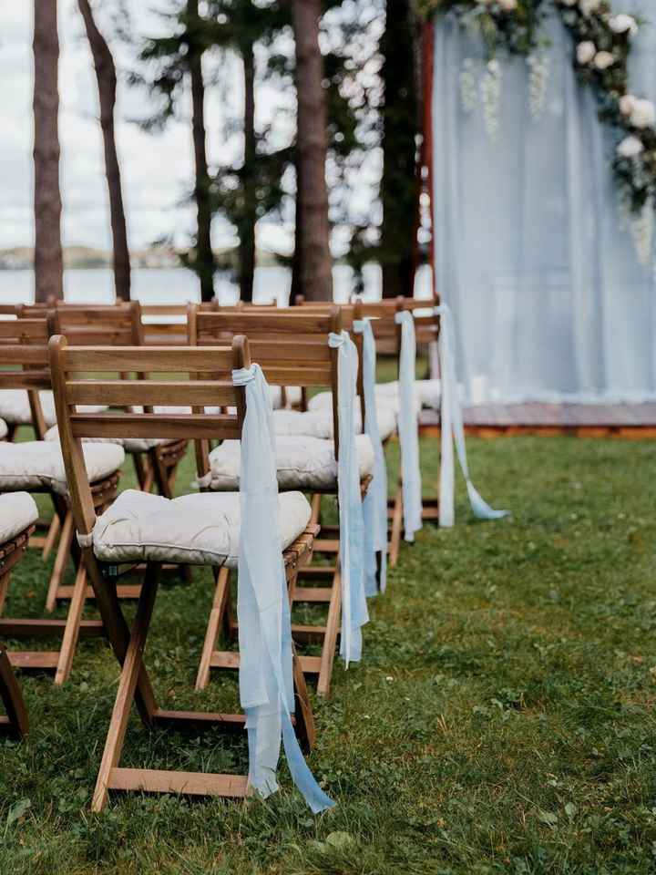 How to decorate ceremony space? - 1
