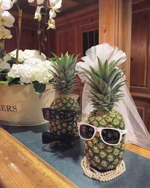 Hawaiian/luau/tropical themed bridal shower - 1