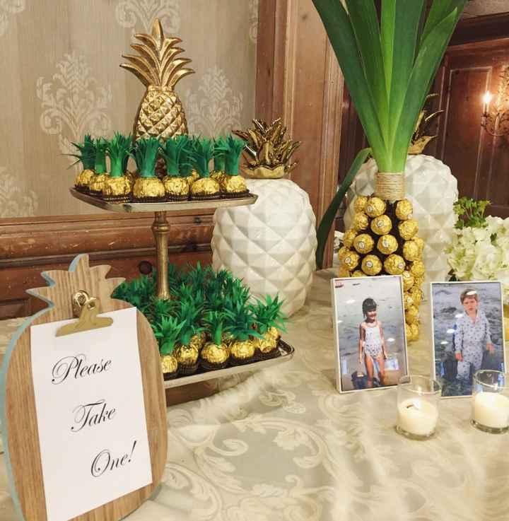 Hawaiian/luau/tropical themed bridal shower - 3