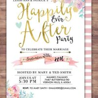Wedding After Party Invite