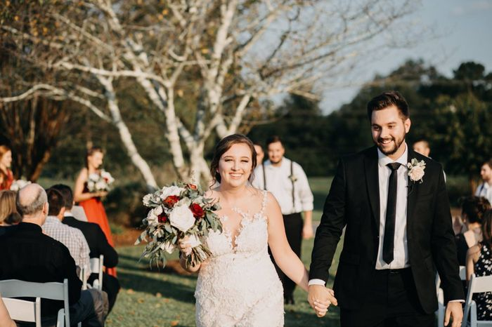 Share your recessional photo! 😊 33