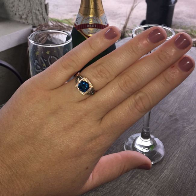 Your Engagement Ring: Total Surprise, Some Input, or Picked it Out Yourself? 3
