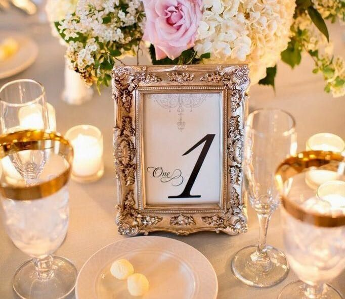 Table Number Frames Weddings Planning Wedding Forums Weddingwire