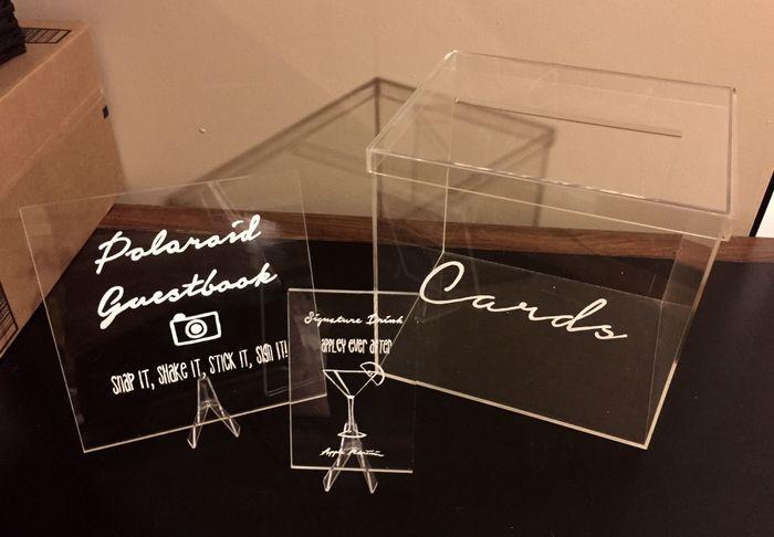 DIY Acrylic Signs (Pt II) *update* | Weddings, Do It
