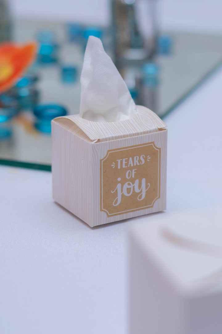 Happy tear tissues. - 1