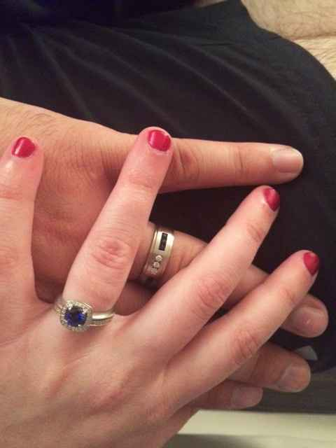 Show me your wedding/engagement rings!