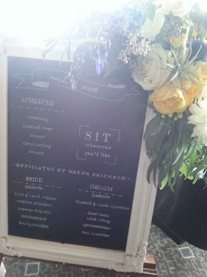 Are menus and programs necessary for wedding?