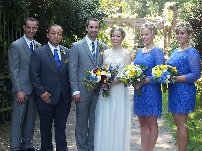 What color bouquet with cornflower blue?! Andddd other advice needed.