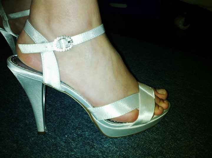 Show me your wedding shoes!!!!