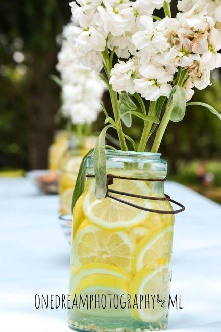 Centerpieces w/ Lemon slices?