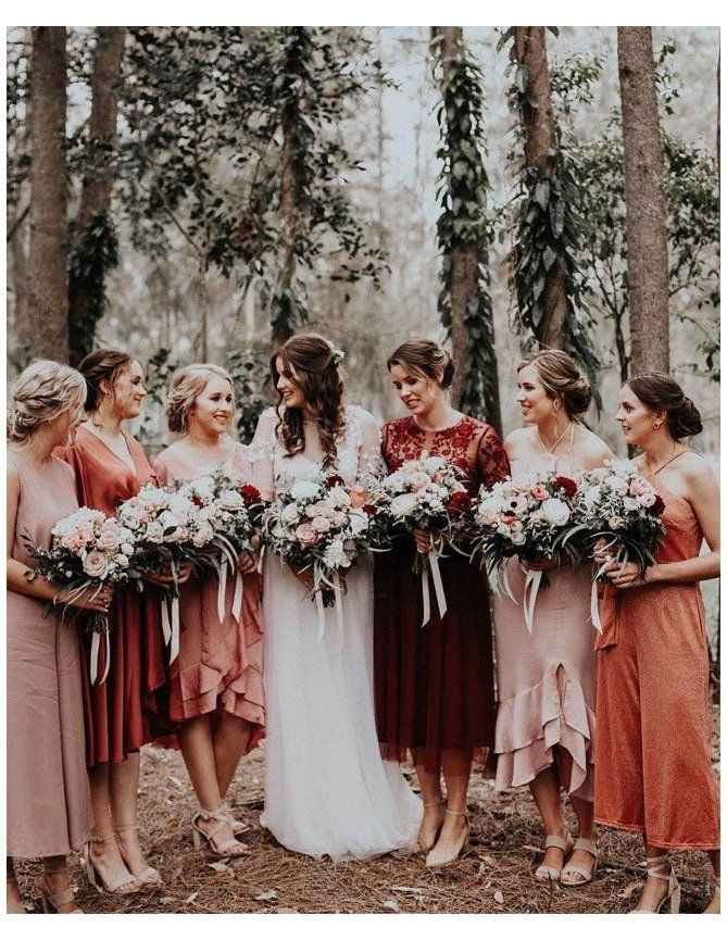 Mix and Match Bridesmaids - 1