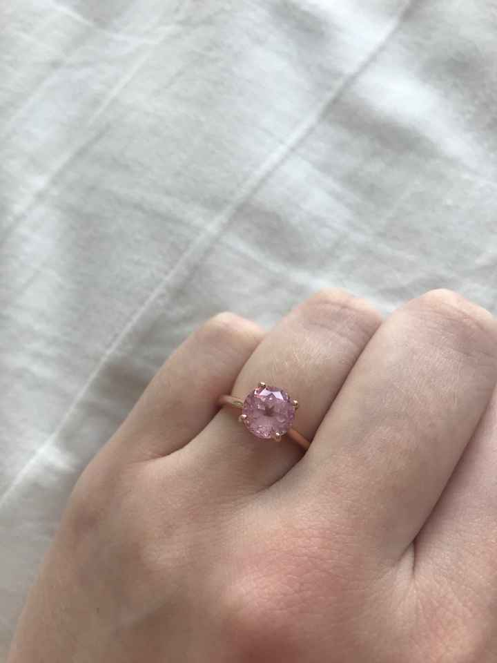 ring thread and why i got this non-traditional ring 🥰 - 1