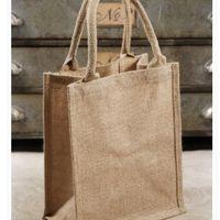 Jute/burlap Wedding Welcome Bags - 1