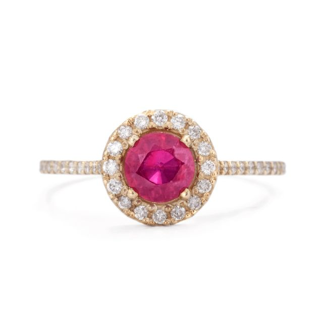 Engagement Rings with colored gemstones 3