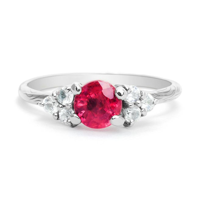 Engagement Rings with colored gemstones 1