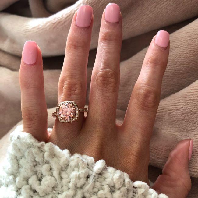 🗣 Rose Gold Rings 18