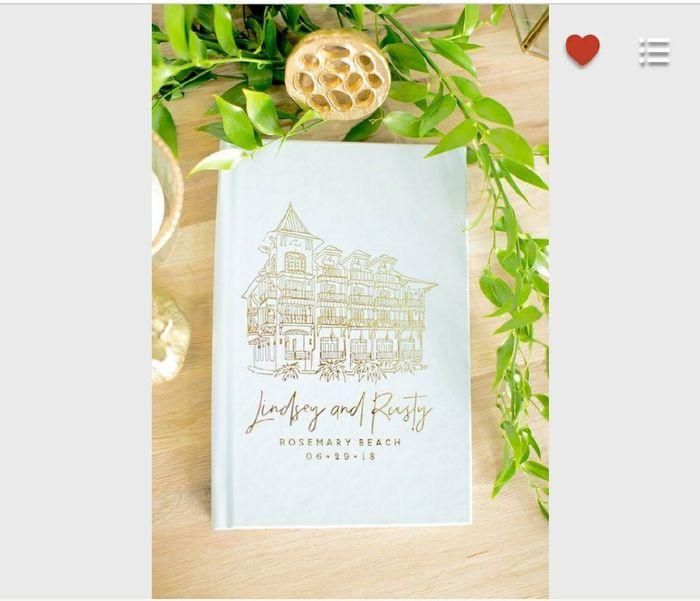 Unique Wedding Guest Books? Show Me Yours! 9