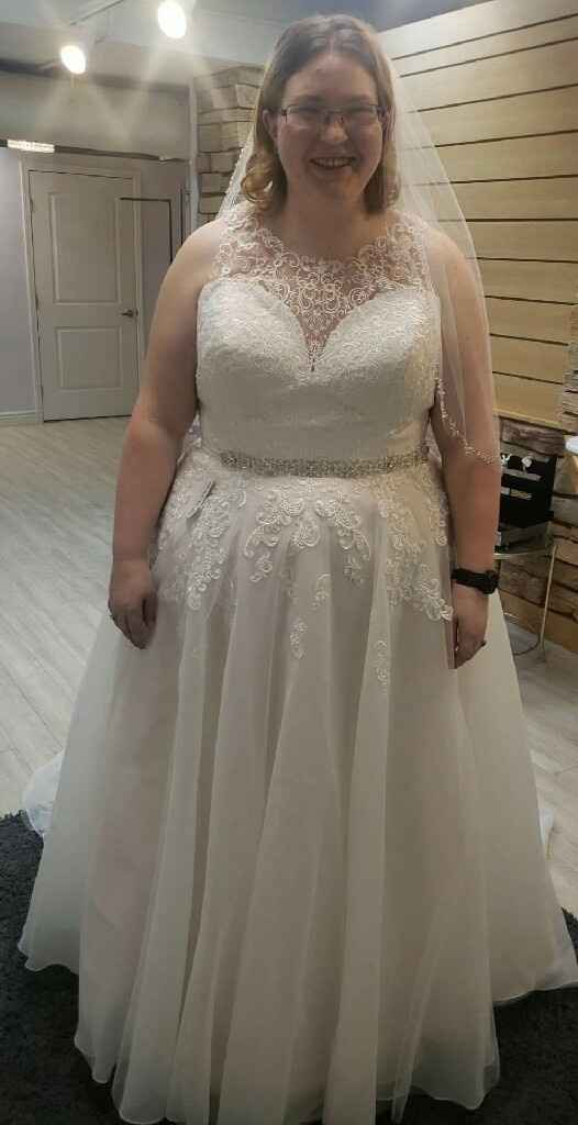 Strapless, sleeveless, or sleeves? What style is your wedding dress? - 1