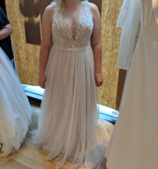 Which came first? Wedding Dress or Bridesmaids Dresses? 1