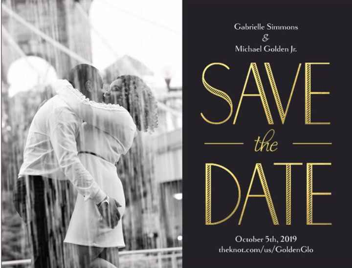 Save the Date Postcards - 1