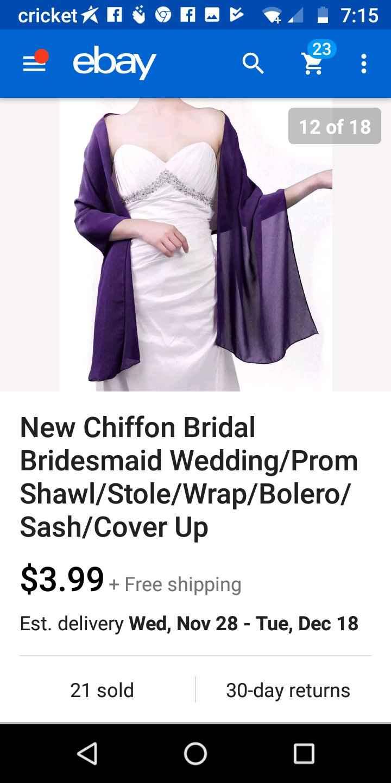 Maid of Honor, Bridesmaid's, Junior Bridemaid Bolero