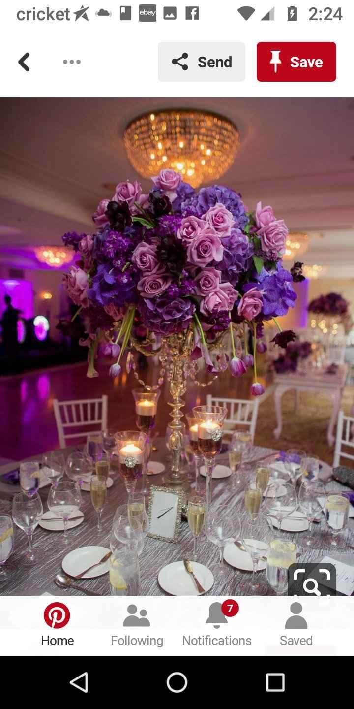 Wedding Floral Arrangement's