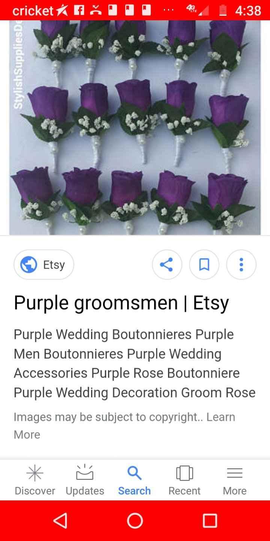 Groommen's Boutonnieres