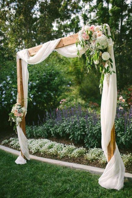 Wedding arbor decorations | Weddings, Do It Yourself | Wedding ...