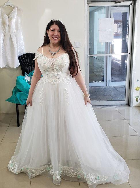 Colored wedding dresses 4