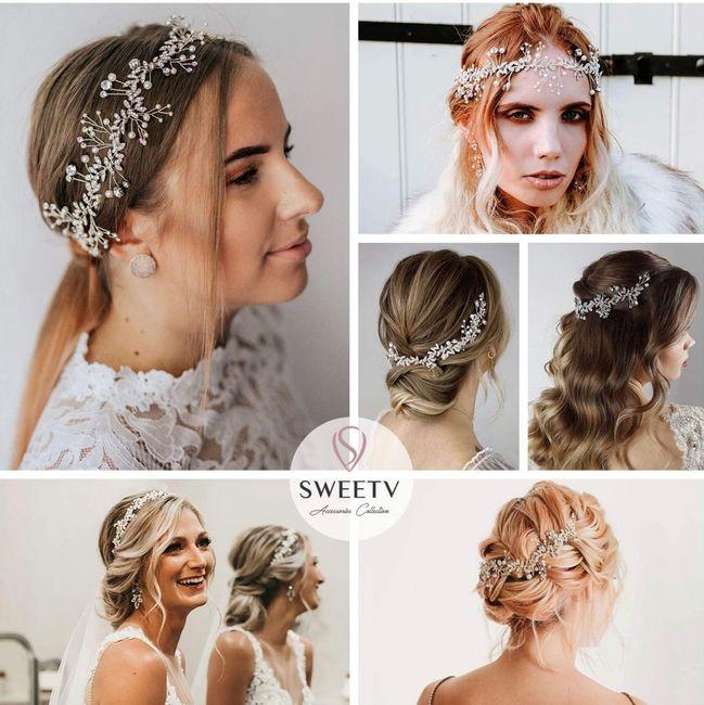 Wedding head peice - 1