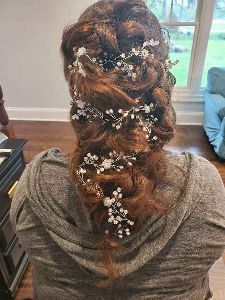 What's your wedding date & how are you wearing your hair? - 1