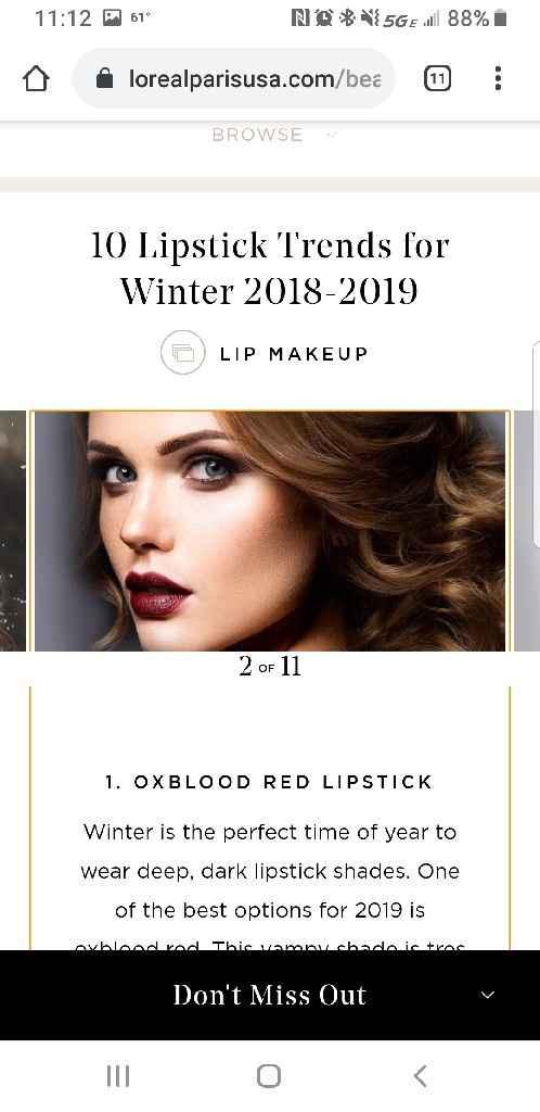 Dark Wedding Lipstick - 3
