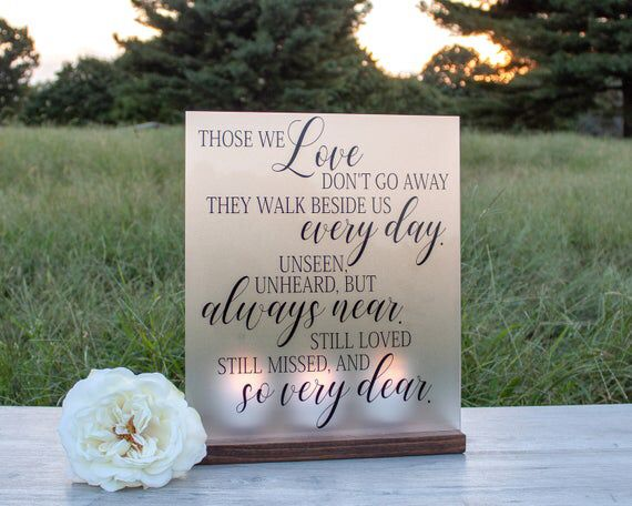 Memorial sayings for passed loved ones 1