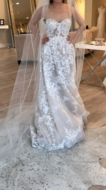 Said Yes to the Dress!! 1