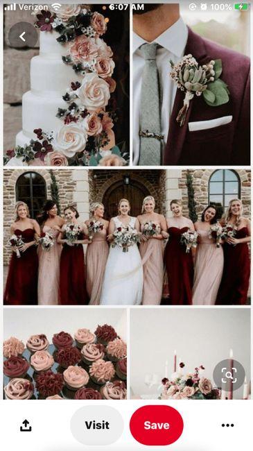 Bridesmaid Colors 1