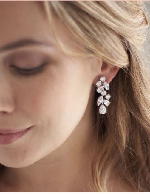 Share your bridal necklace & earrings 4