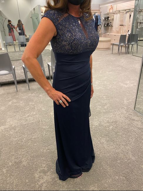 Mother of the Bride Dress, Sexy & Sleek? 1