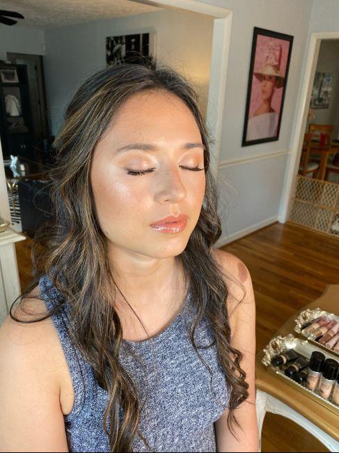Hair/makeup Trial 2