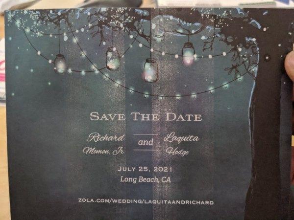 Save The Dates Error - 1
