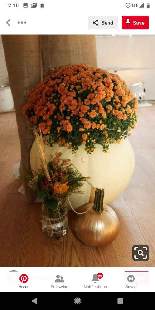 What's your favorite centerpiece style? Tall, short, garlands, hanging, or non floral? - 1